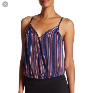 BCBGeneration Striped Cami